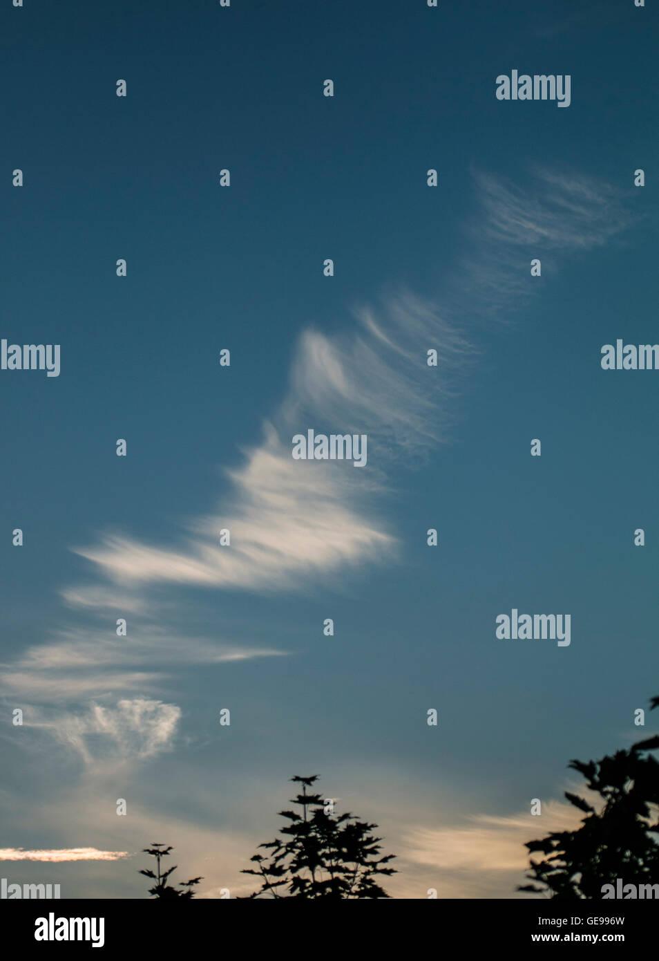 good weather cloud - Stock Image