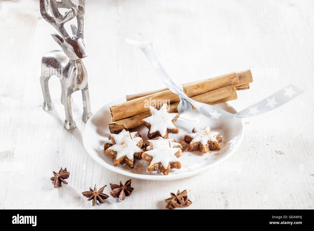 Home Baked Cinnamon Almond Cookies Stock Photos & Home Baked ...