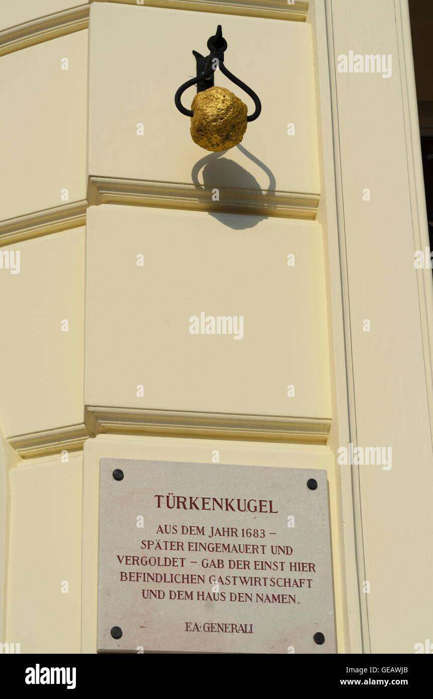 Wien, Vienna: Turks ball at square Am Hof, Austria, Wien, 01. - Stock Image