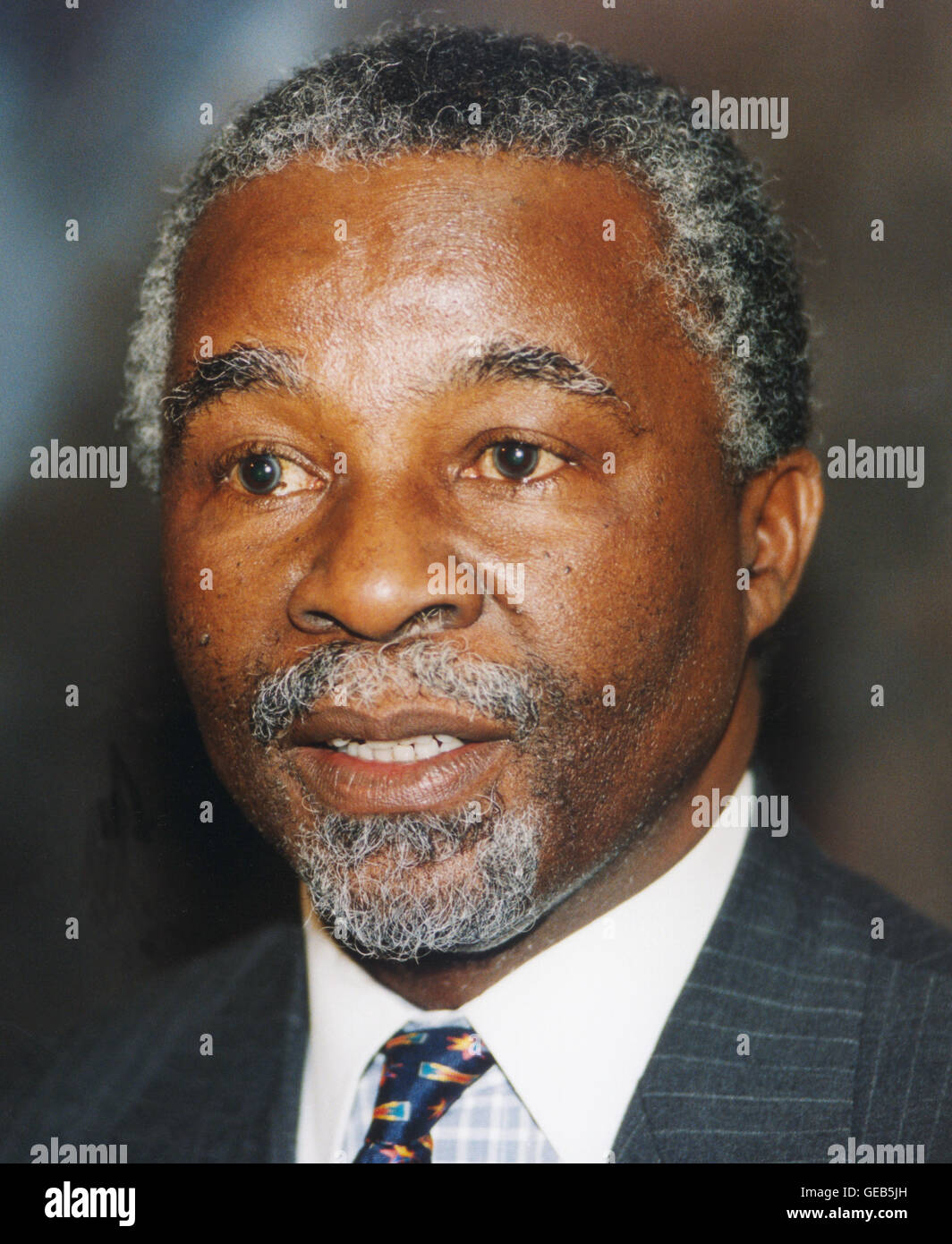 THABO MBEKI President of South Africa - Stock Image