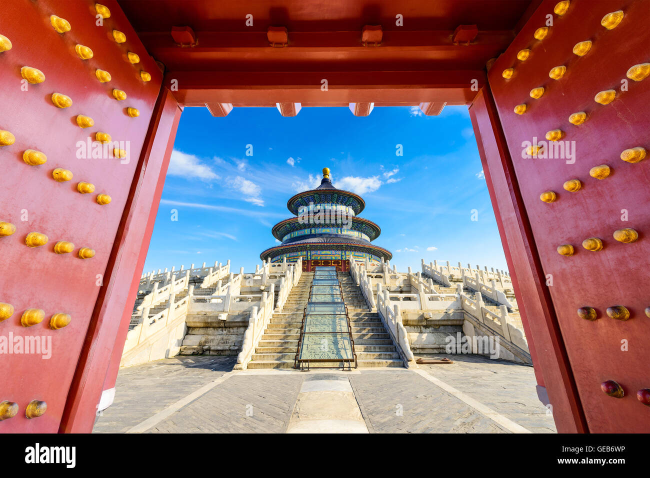 Temple of Heaven in Beijing, China. - Stock Image