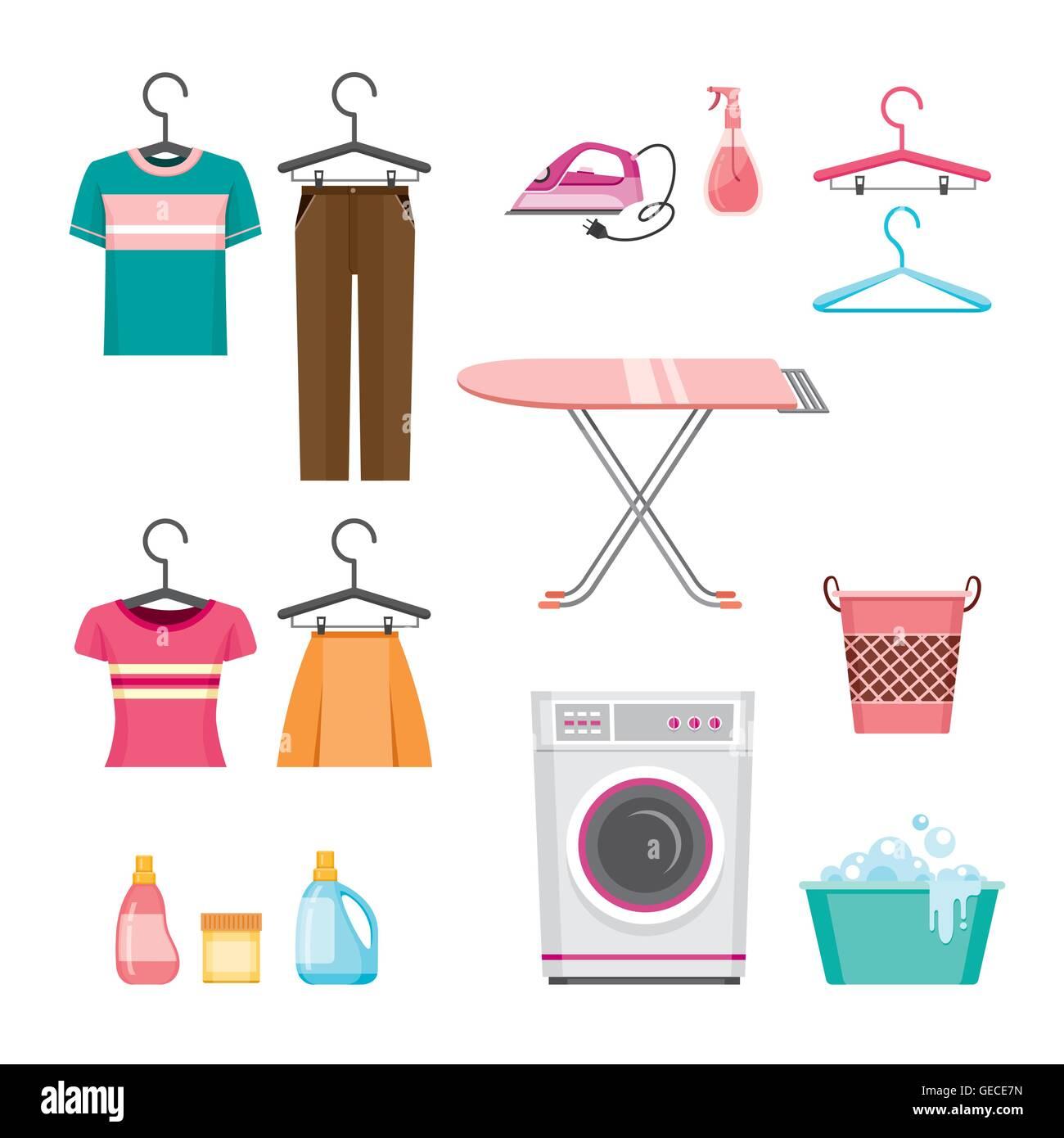 Cartoon Laundry Stock Photos Amp Cartoon Laundry Stock