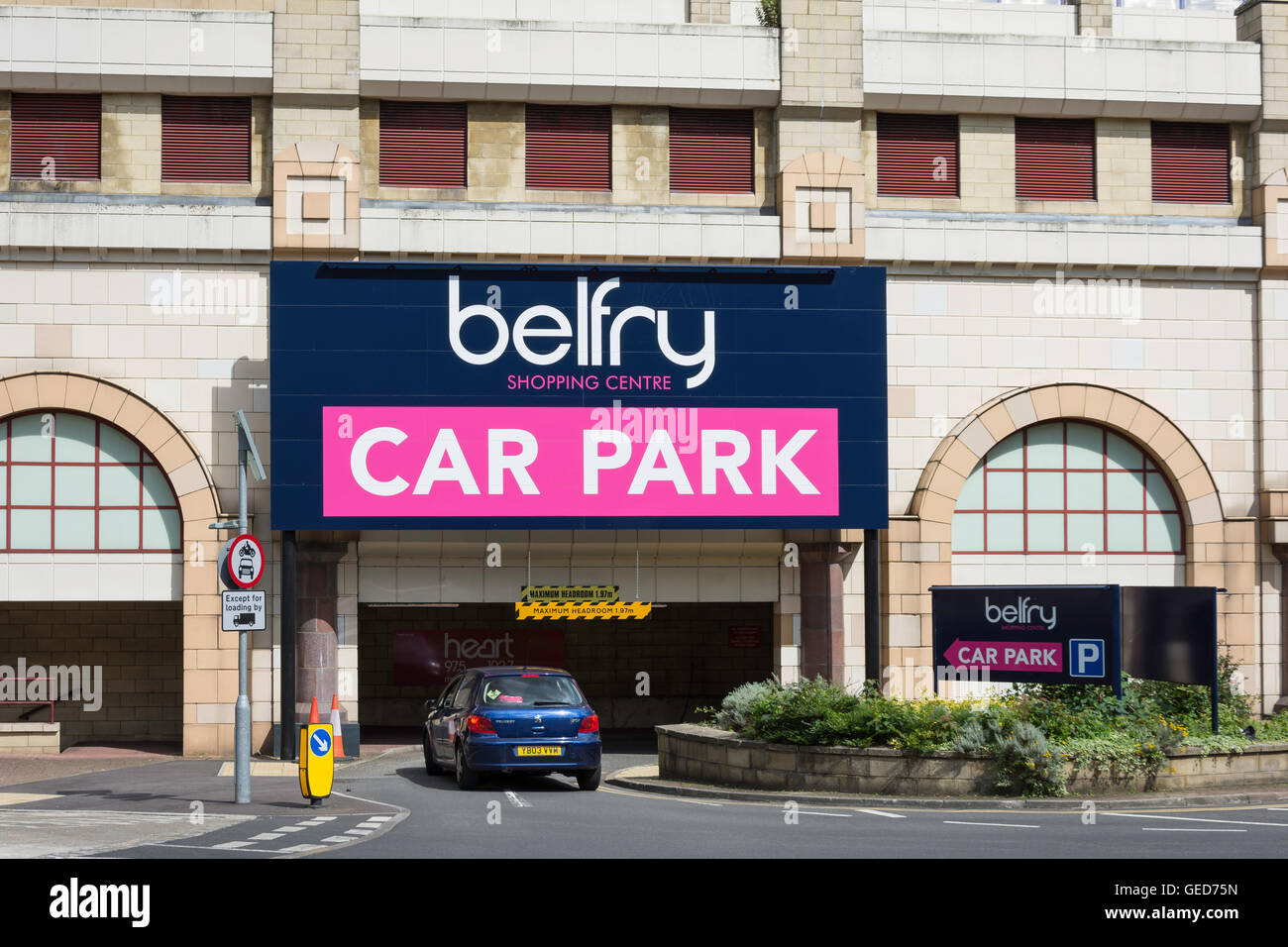 Belfry Car Park Redhill