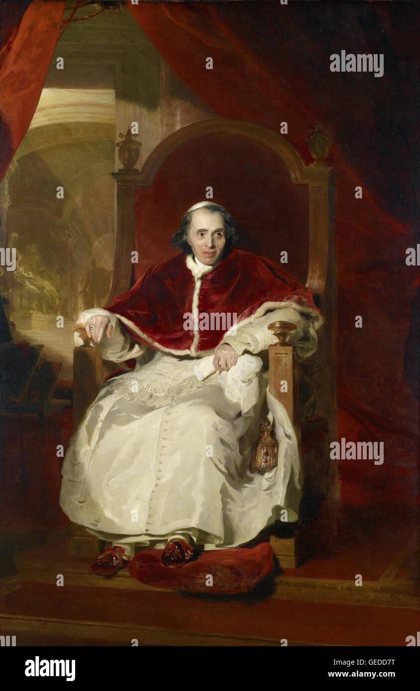 Sir Thomas Lawrence - Pope Pius VII (1742-1823) - Stock Image