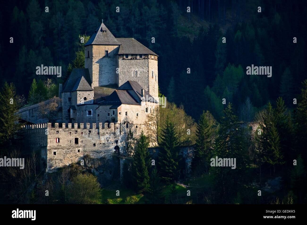 geography / travel, Austria, South Tirol / Vipiteno, Reifenstein Castle in Vipiteno (Sterzing), No-Exclusive-Use - Stock Image