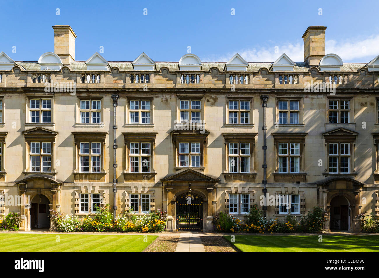 Fellows Building, Christ's College, University of Cambridge, Cambridge, England, United Kingdom - Stock Image
