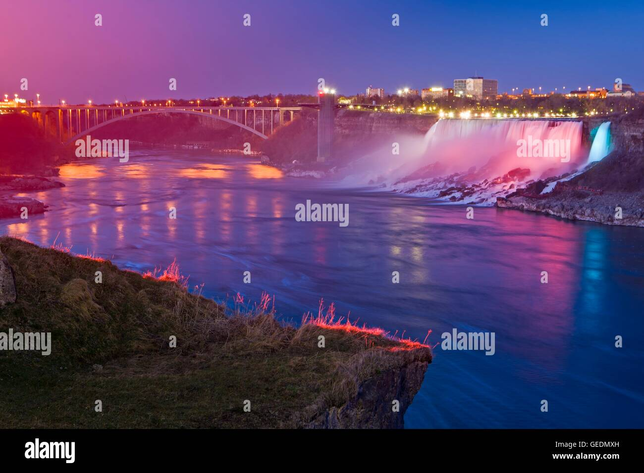 Geography Travel Canada Ontario American Falls And The