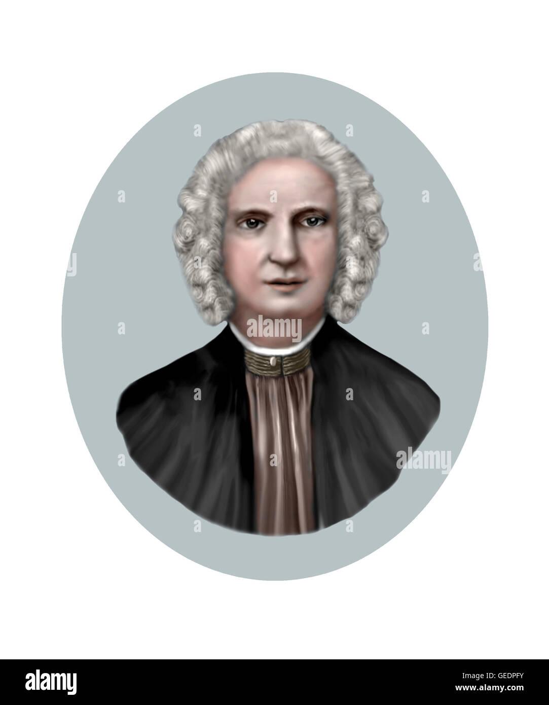 Antonio Vivaldi, 1678-1741, Composer - Stock Image