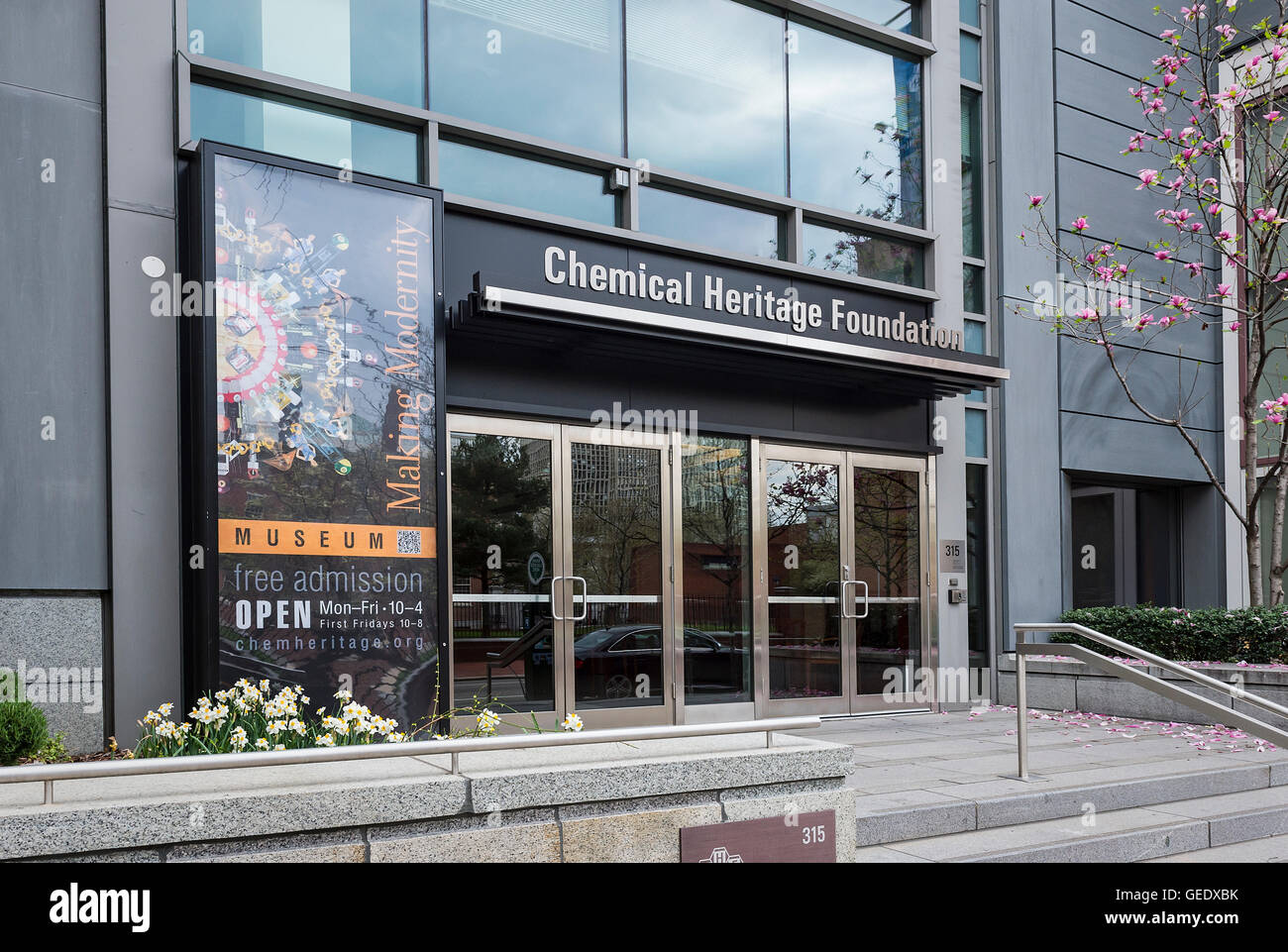 Chemical Heritage Foundation, Philadelphia, Pennsylvania, USA - Stock Image