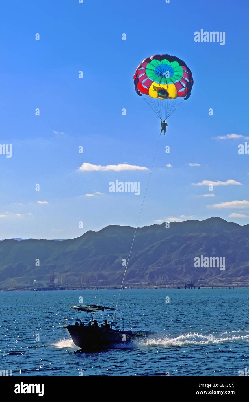 Eilat, red sea fun activity - Stock Image
