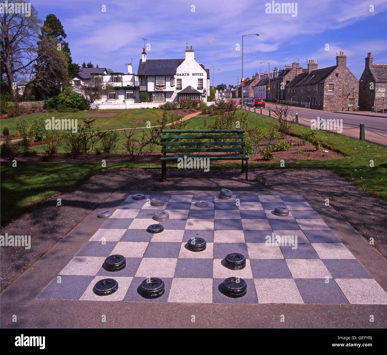Grantown On Spey, Moray, Scotland - Stock Image