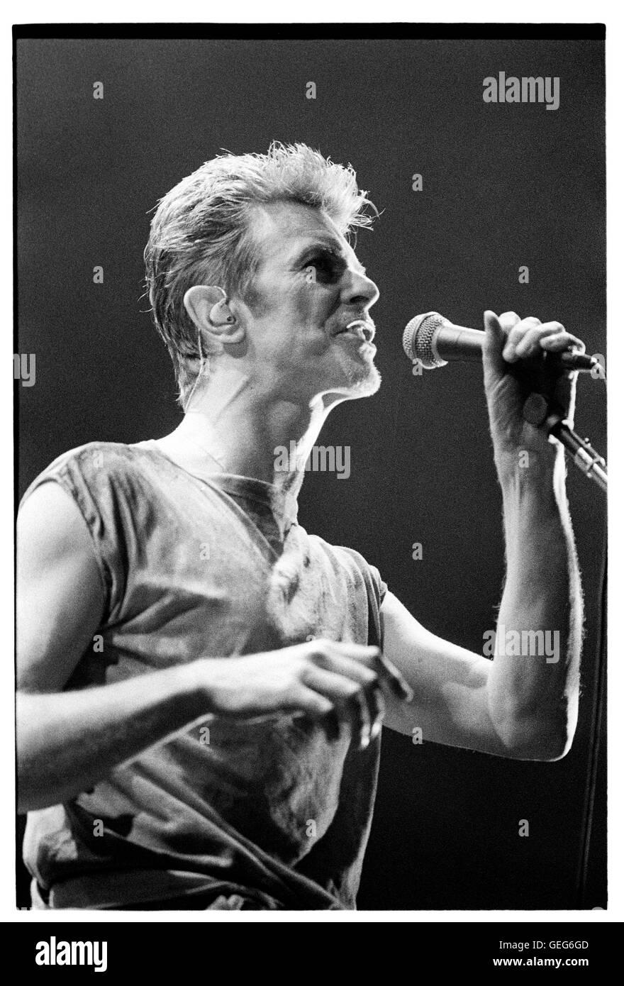 David Bowie October 21, 1995. Credit: Jay Blakesberg/MediaPunch - Stock Image