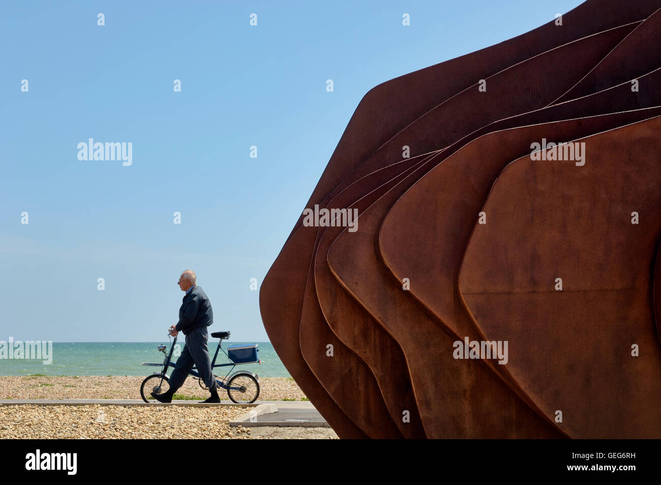 The East Beach Cafe at Littlehampton. West Sussex. England Stock Photo