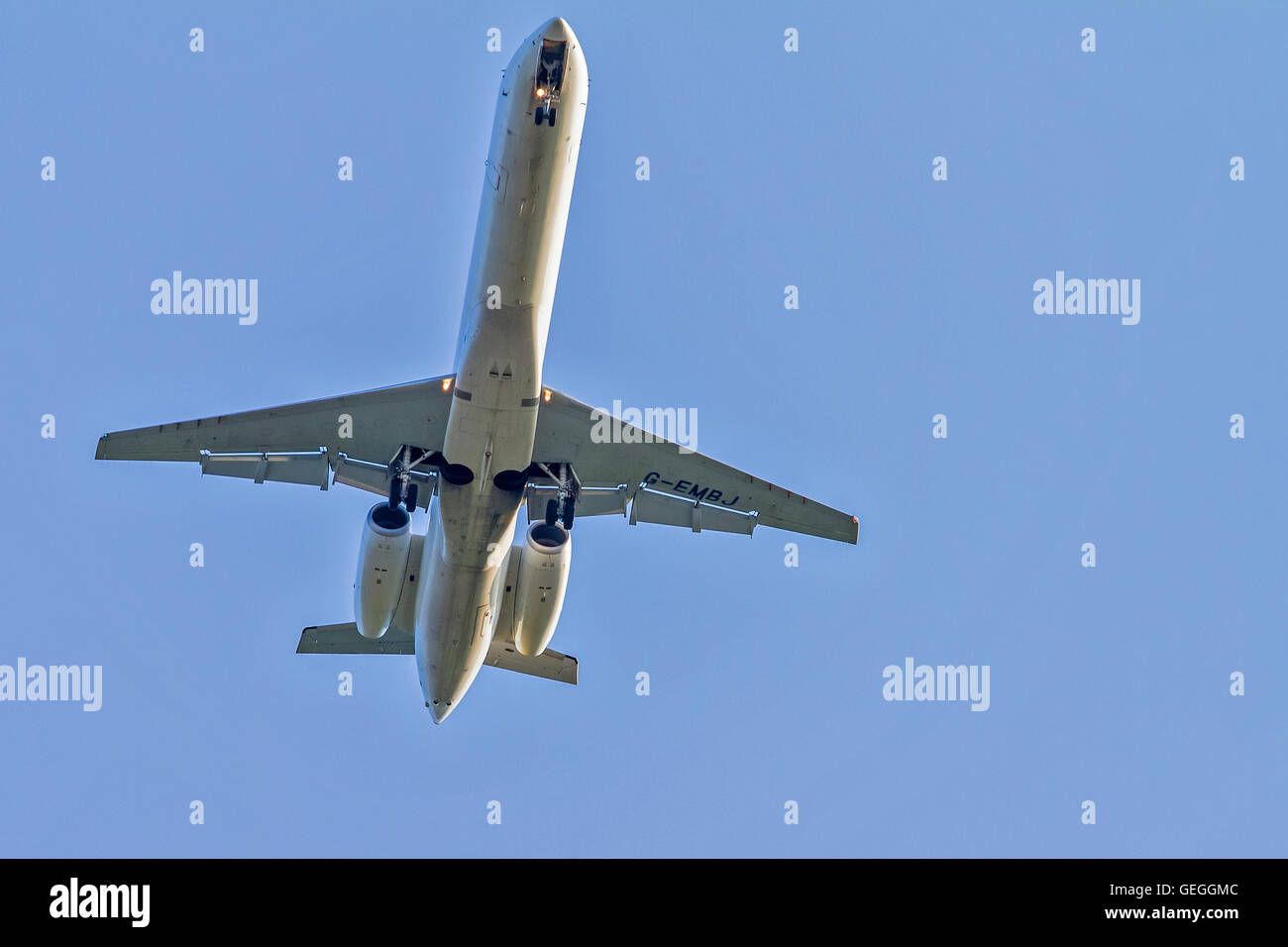 Embraer EMB-145EP Aircraft Southampton UK - Stock Image