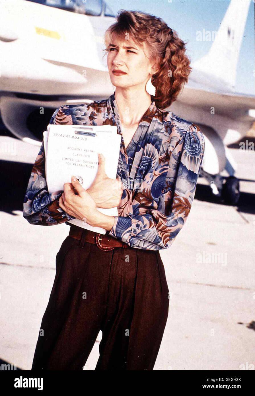 Laura Dern   Janets (Laura Dern) Mann Ted kommt bei einem Testflug ums Leben. Sie glaubt nicht an menschliches Versagen Stock Photo