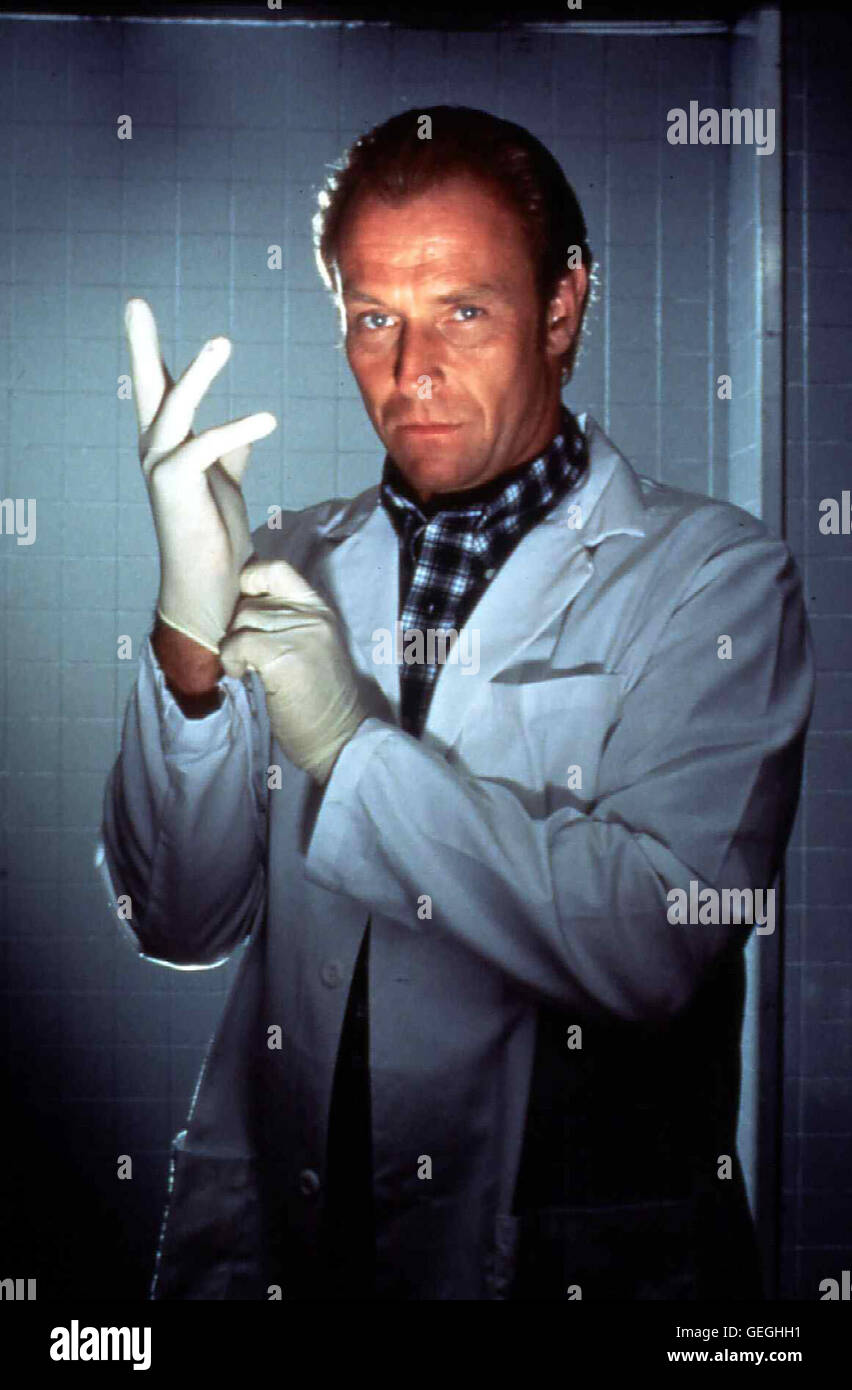 Corbin Benson   Aus reiner Geldgier mordet der erfolgreiche Zahnarzt Stan Benderman (Corbin Benson) seit zwanzig Jahren. *** Local Caption *** 1993, Appointment For A Killing, Verabredung Mit Einem Killer Stock Photo