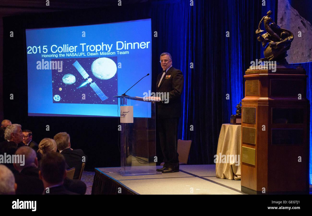2015 Collier Trophy Presentation  06090002 - Stock Image