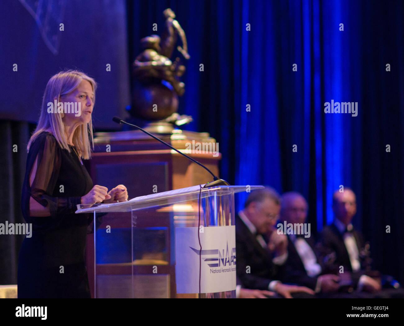 2015 Collier Trophy Presentation  06090004 - Stock Image