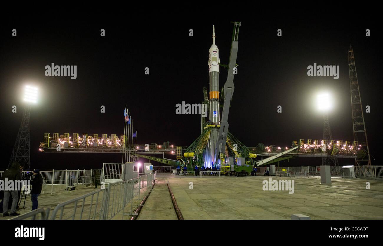Exp 47 Soyuz Raising  03160023 - Stock Image