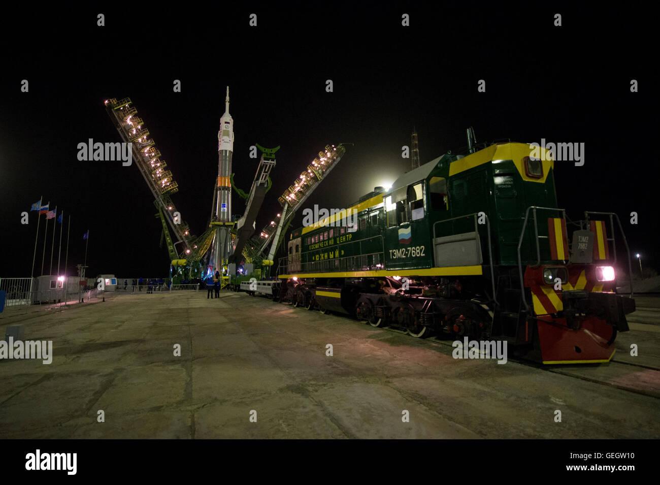 Exp 47 Soyuz Raising  03160026 Stock Photo