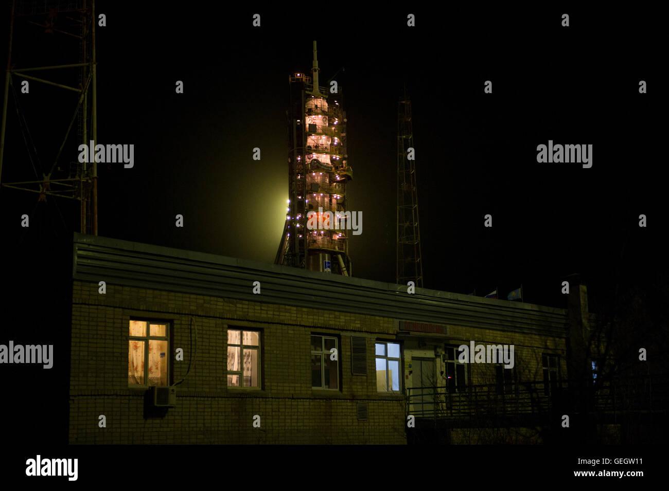Exp 47 Soyuz Raising  03160027 Stock Photo