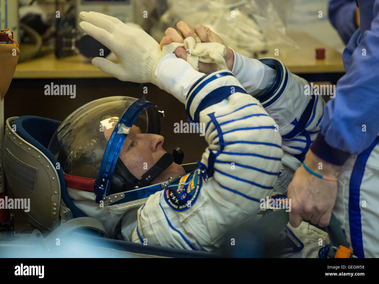 Expedition 46 Preflight  12150045 - Stock Image