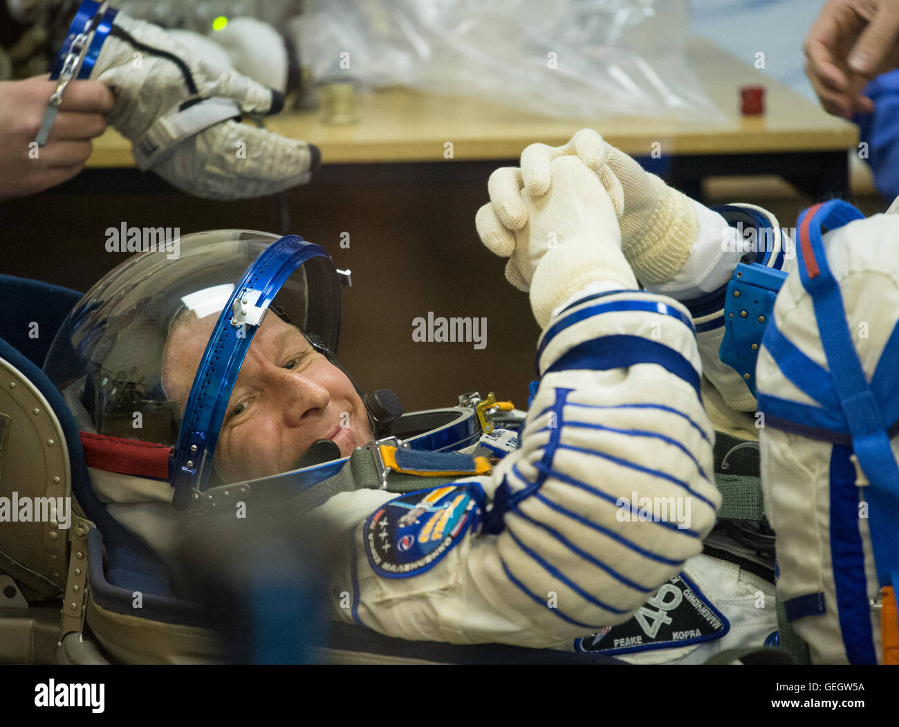 Expedition 46 Preflight  12150046 - Stock Image