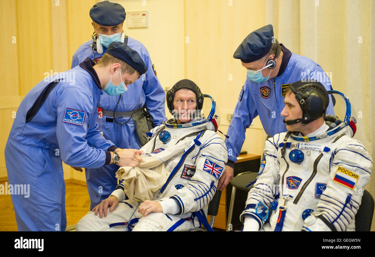 Expedition 46 Preflight  12150059 - Stock Image