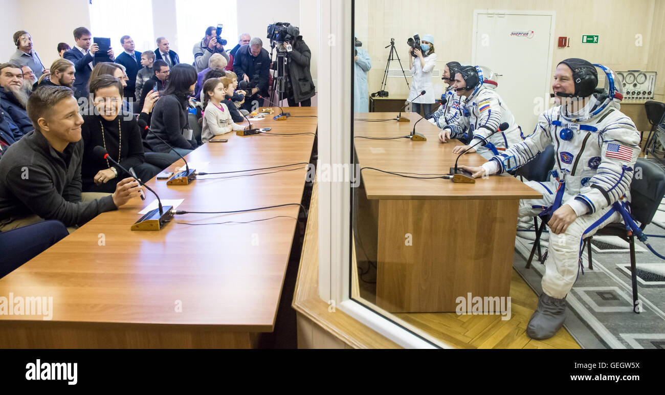 Expedition 46 Preflight  12150064 - Stock Image