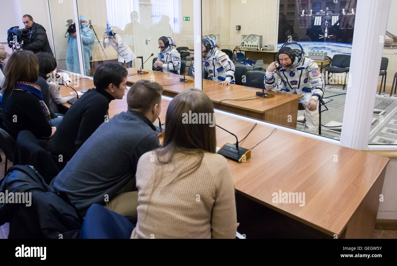 Expedition 46 Preflight  12150065 - Stock Image