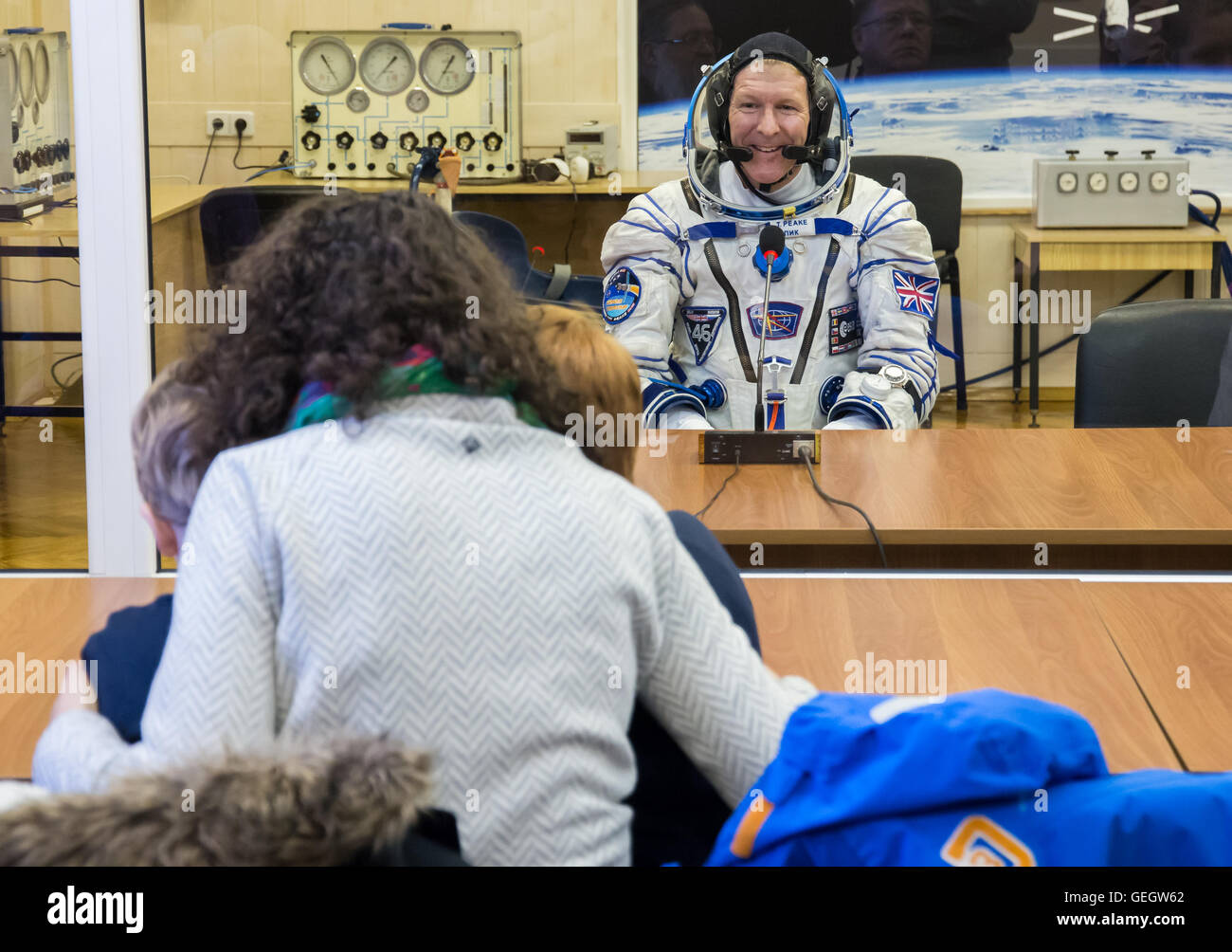 Expedition 46 Preflight  12150067 - Stock Image