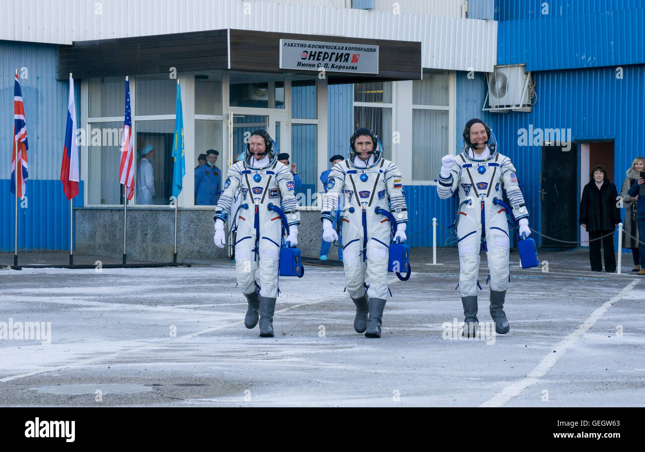 Expedition 46 Preflight  12150068 - Stock Image