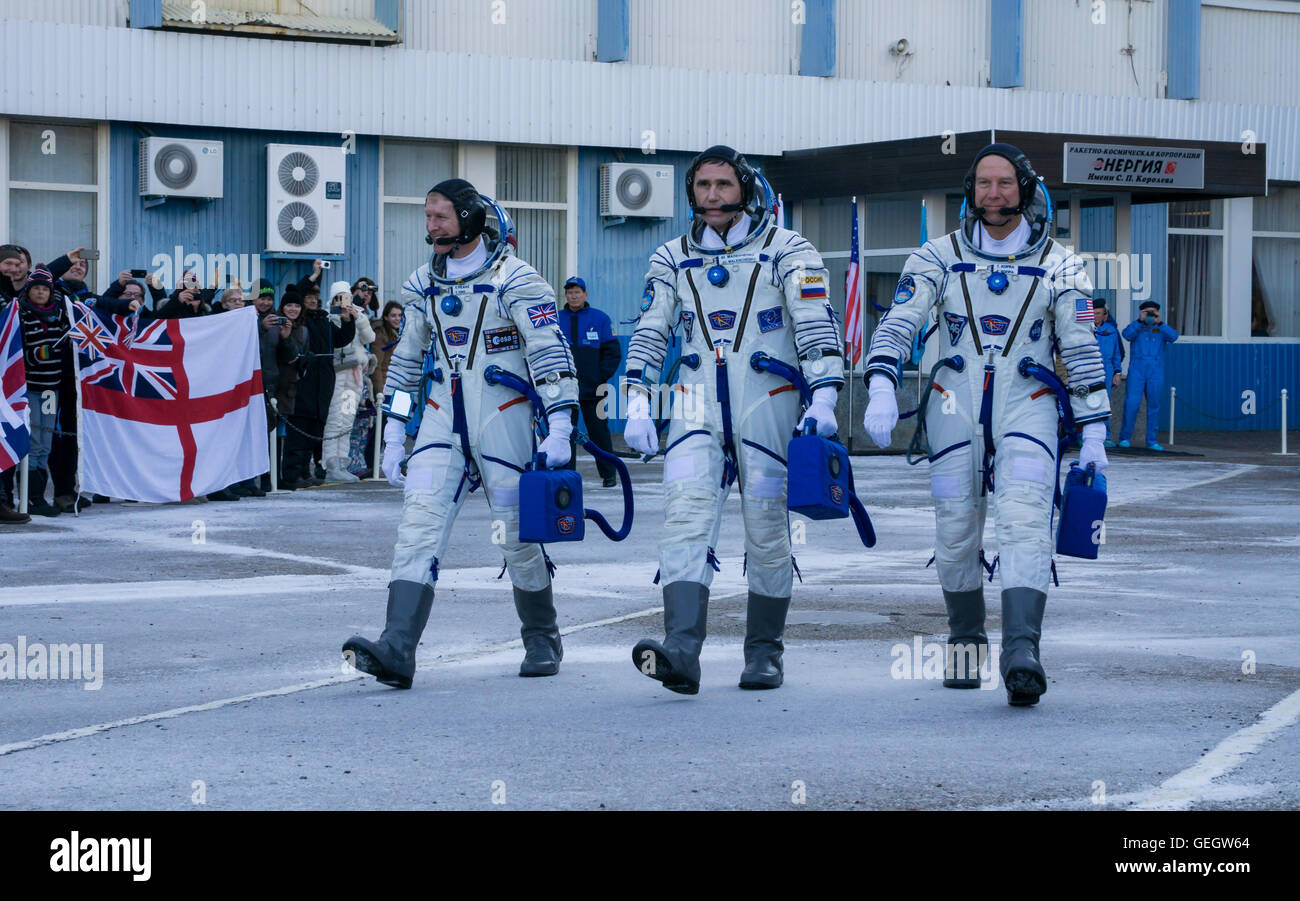 Expedition 46 Preflight  12150069 - Stock Image