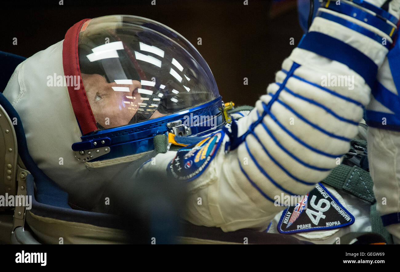 Expedition 46 Preflight  12150075 - Stock Image