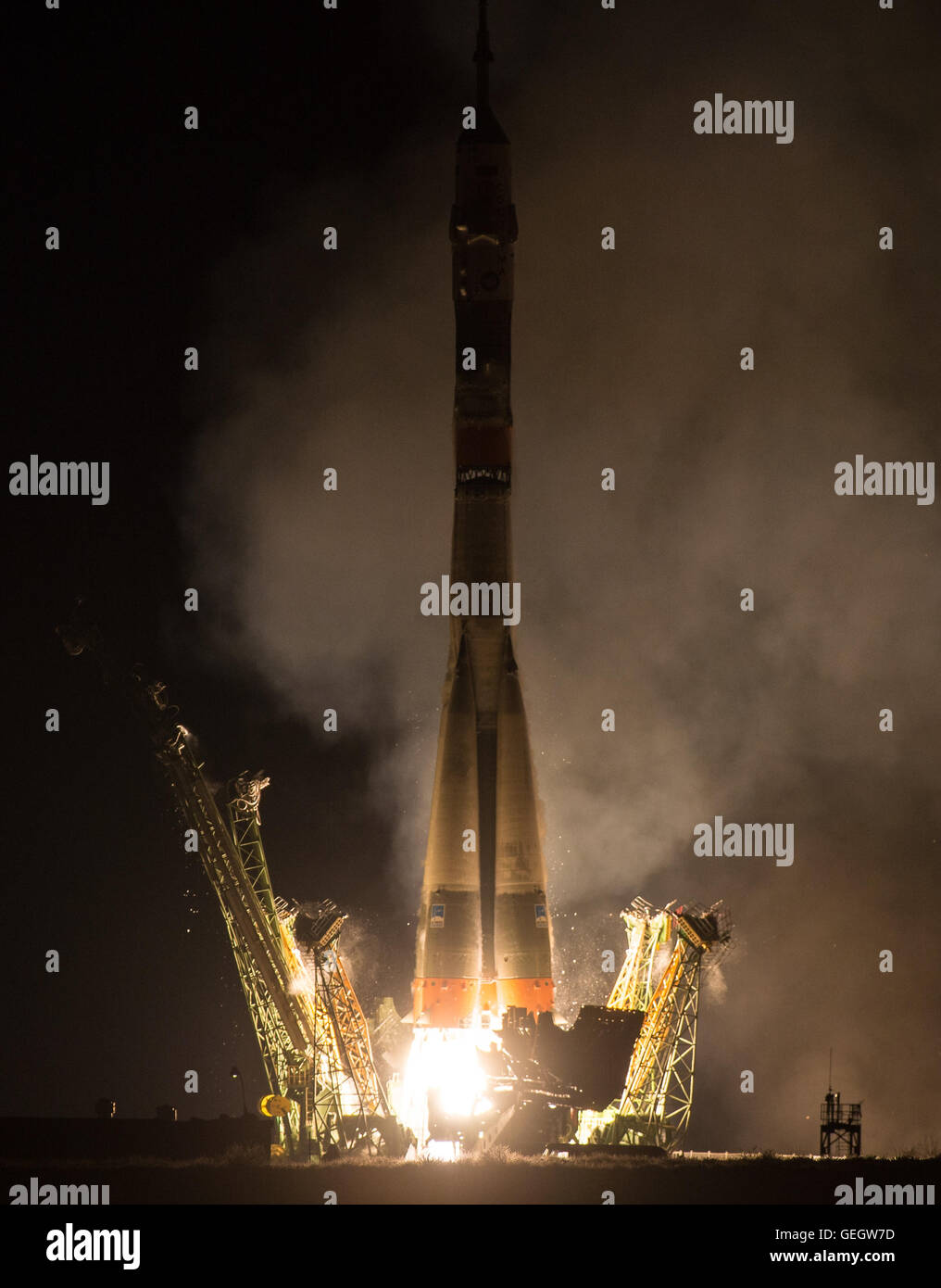 Expedition 47 Launch  03190002 - Stock Image
