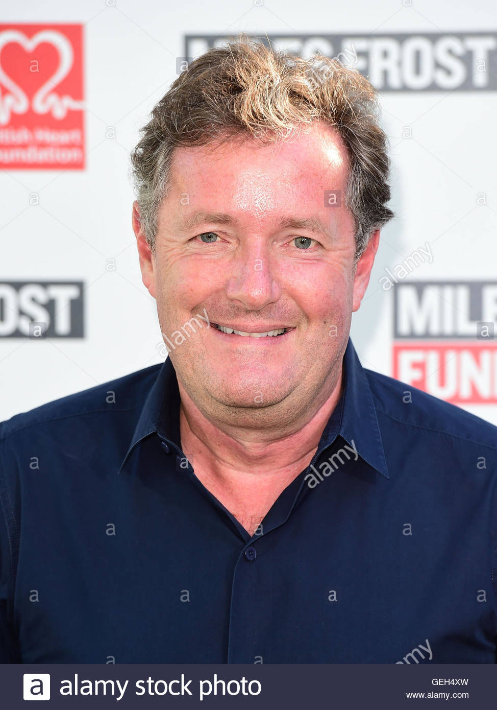 """File photo dated 18/07/16 of Piers Morgan who has slammed Jennifer Aniston and told the actress to """"get - Stock Image"""