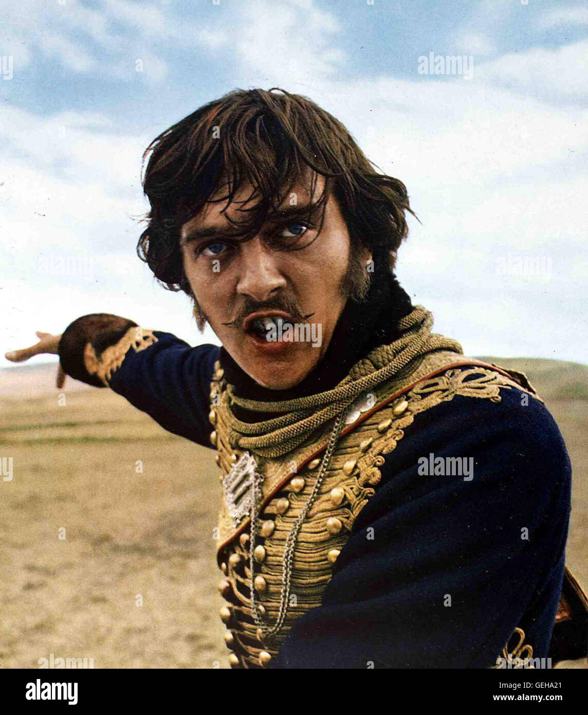 Captain Nolan (David Hemmings)  *** Local Caption *** 1968, Charge Of The Light Brigade, The, Der Angriff Der Leichten - Stock Image