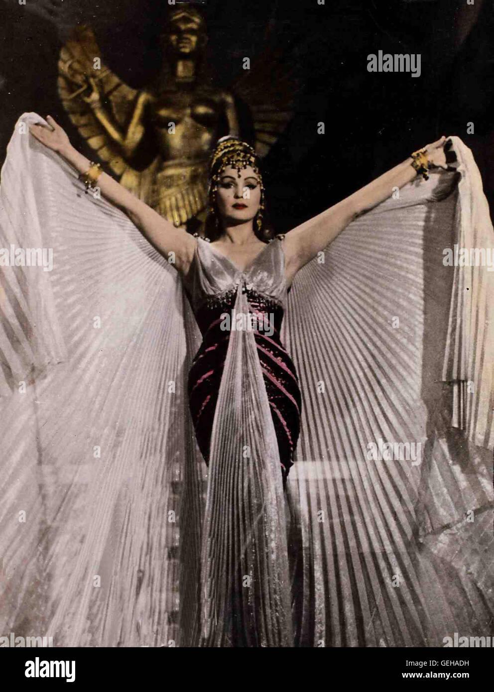 Moira Orfei *** Local Caption *** 1963, Eroe Die Babilonia, L', Die Sklavinnen Von Damaskus - Stock Image