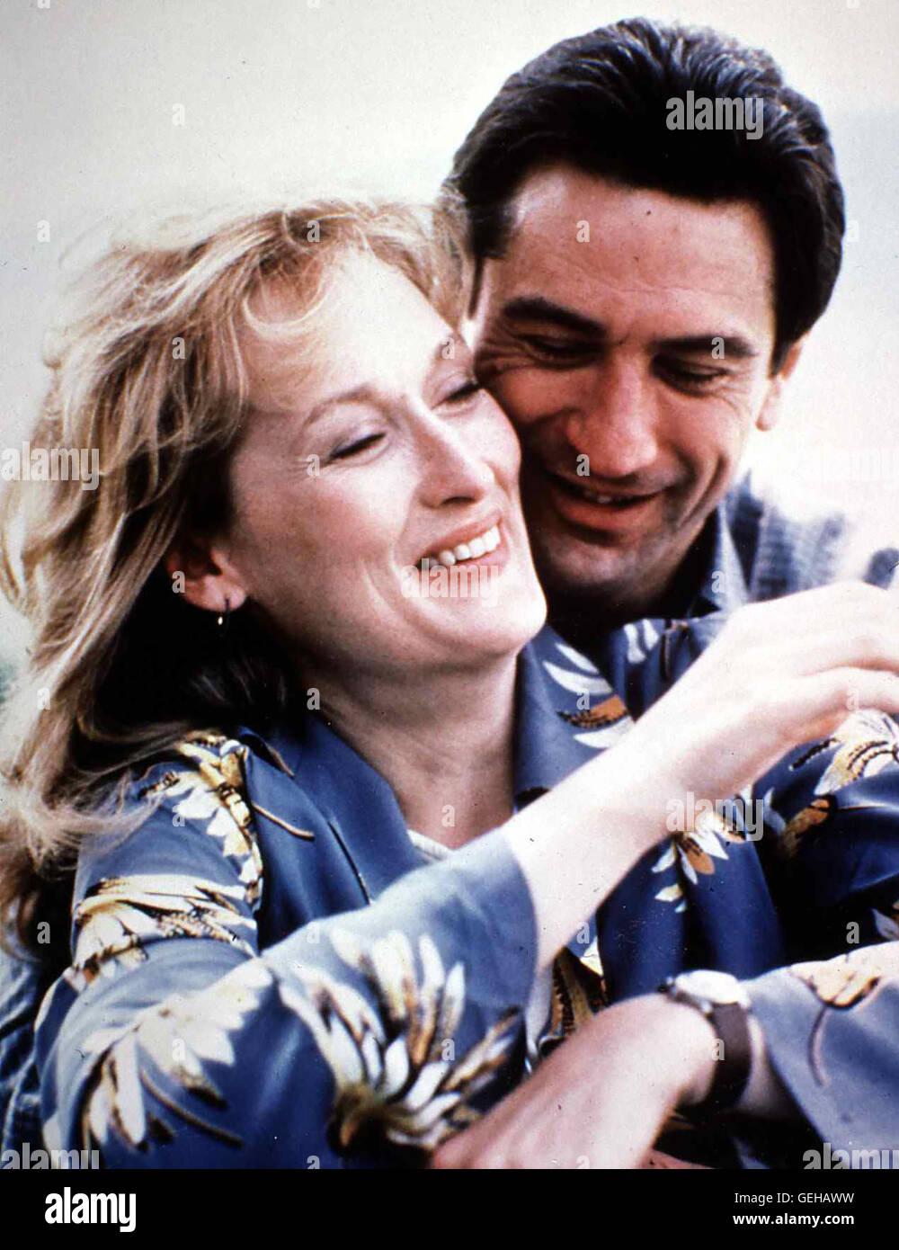 Meryl Streep, Robert De Niro Im Zug zwischen Westchester und New York lernen sich  Frank Raftis (Robert De Niro) - Stock Image