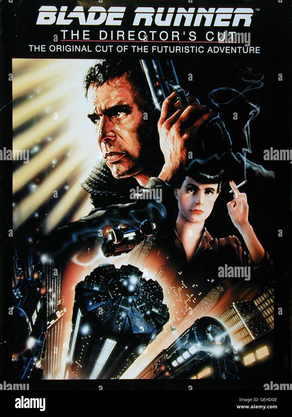 Poster *** Local Caption *** 1982, Blade Runner, Der Blade Runner - Poster - - Stock Image