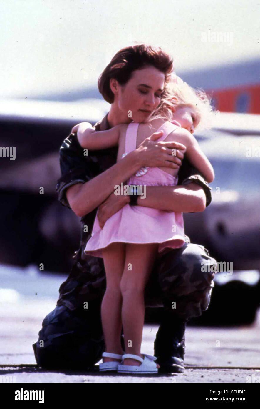 Beverly Clark (Laura Leigh Hughes) *** Local Caption *** 1991, Heroes Of Desert Storm, The, Operation Wüstensturm - Stock Image
