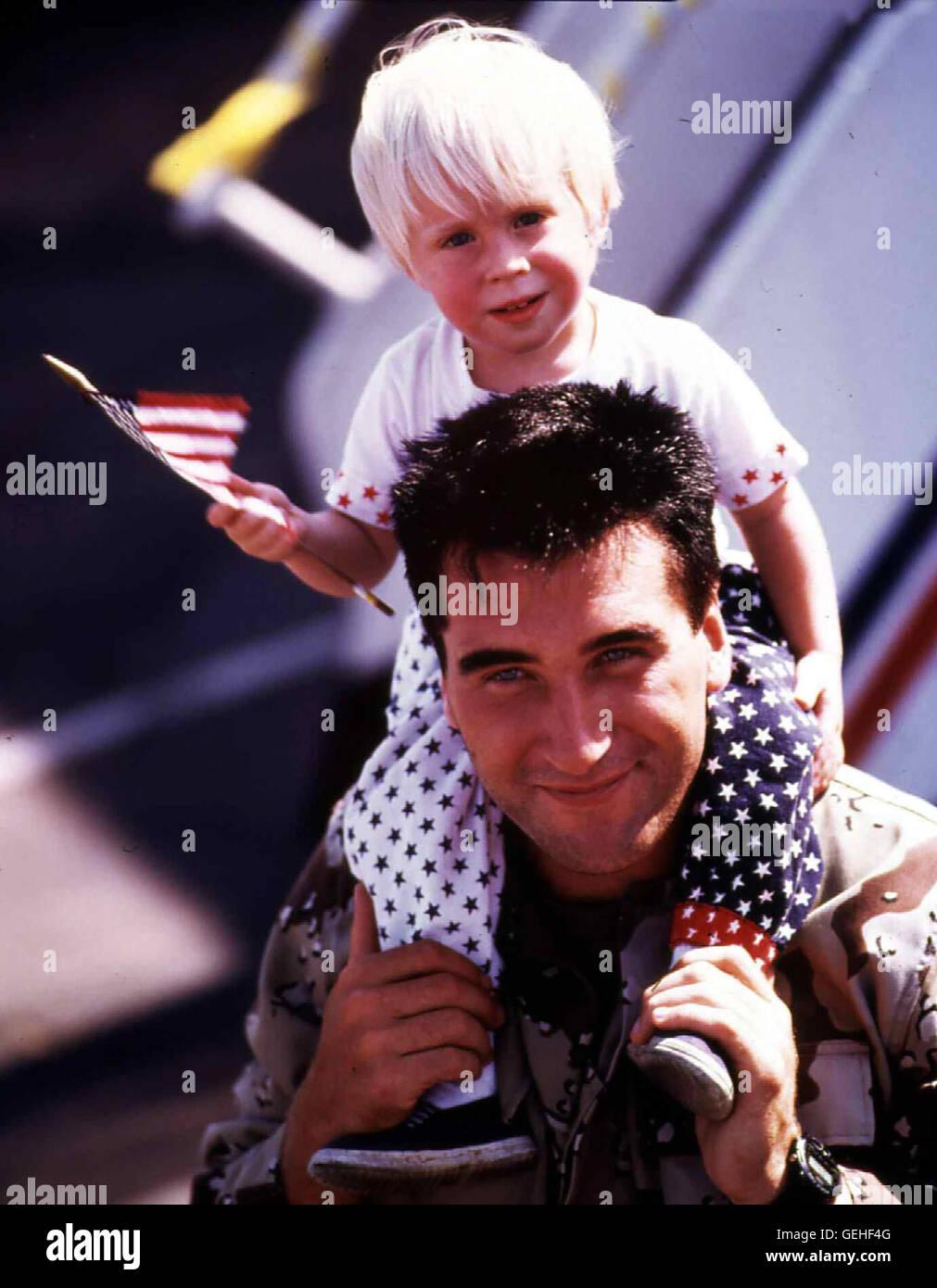 Sgt. Benjamin Pennington (Daniel Baldwin) *** Local Caption *** 1991, Heroes Of Desert Storm, The, Operation Wüstensturm - Stock Image