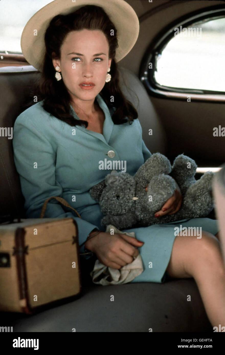 Patricia Arquette Richard entscheidet sich fuer Arline (Patricia Arquette). Als er das Angebot bekommt, als Wissenschaftler - Stock Image
