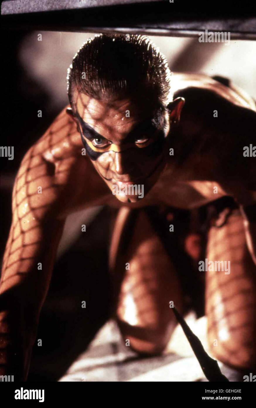 Robert Patrick Als Chase (Robert Patrick) den Indianerstamm von Killern ausrotten laesst, wird er von dem Haeuptling - Stock Image