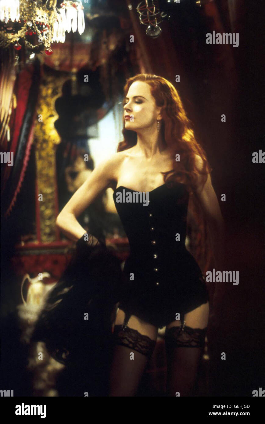 Nicole Kidman Moulin Rouge Film Stock Photos & Nicole