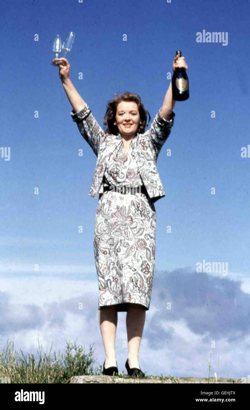 Ruth McCabe Mary (Ruth McCabe) liebt den genialen Christy. *** Local Caption *** 1989, My Left Foot, Mein Linker - Stock Image