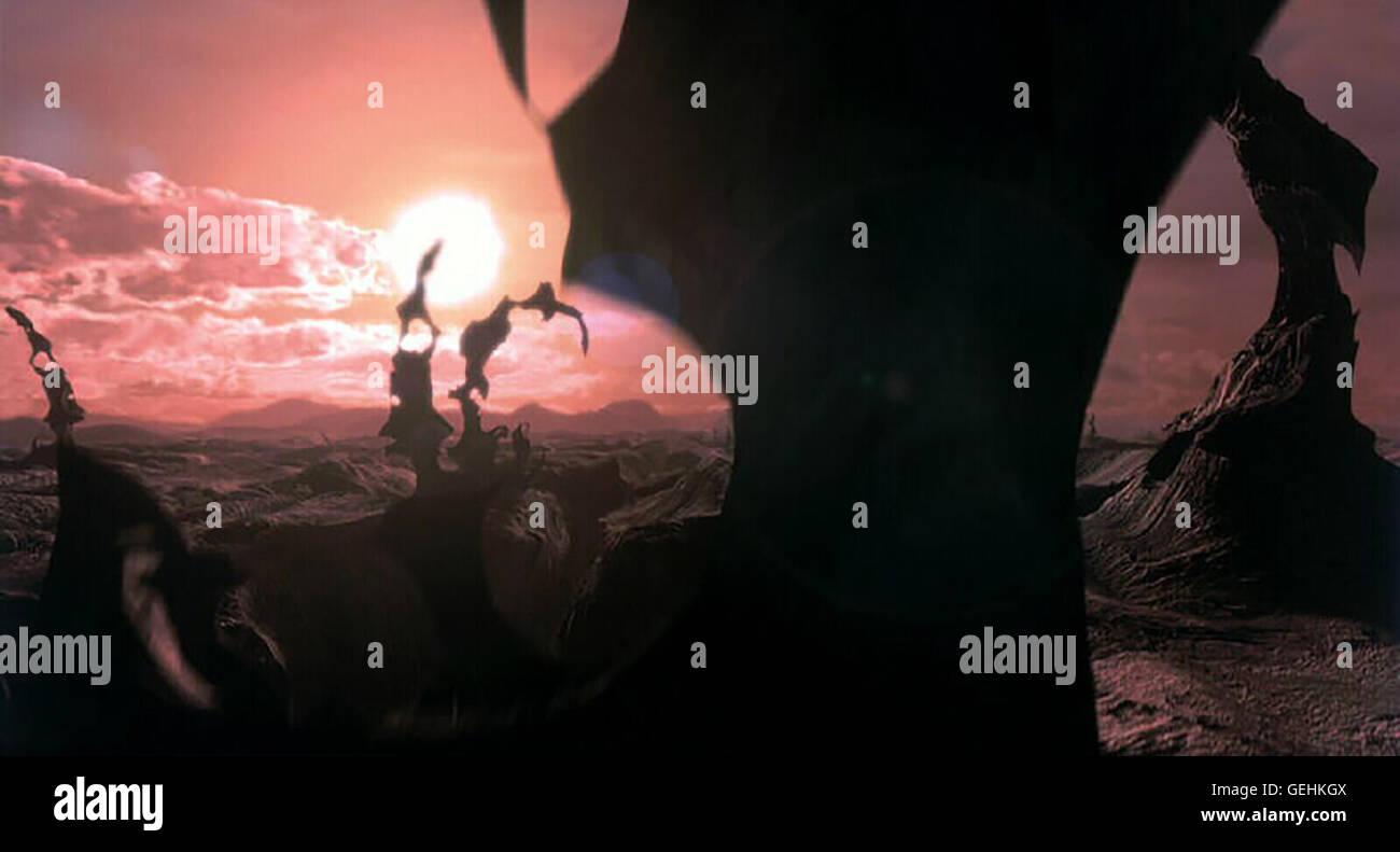 Szene *** Local Caption *** 2001, Final Fantasy: The Spirits Within, Final Fantasy: Die Maechte In Dir - Stock Image