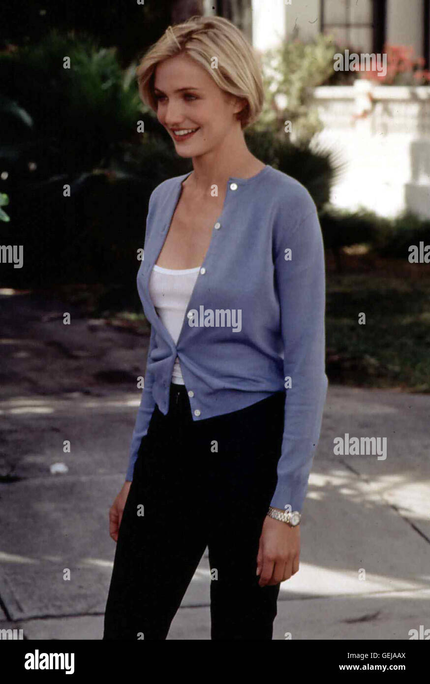 Cameron Diaz Mary (Cameron Diaz) *** Local Caption *** 1998, There's Something About Mary, Verrueckt Nach Mary - Stock Image