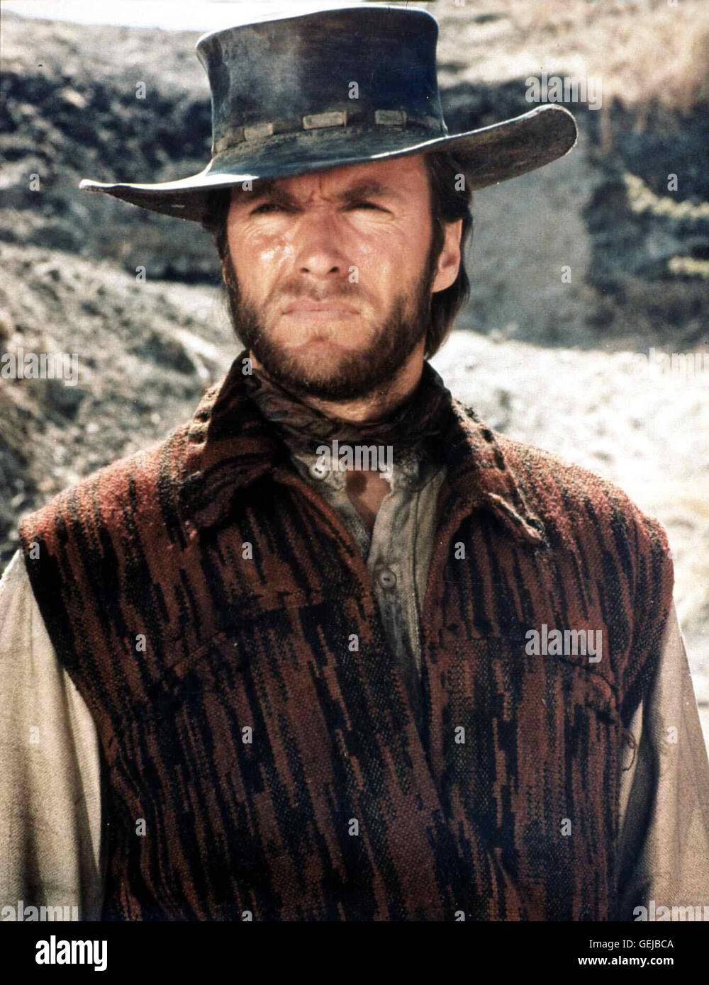 Clint Eastwood Der amerikanische Söldner Hogan (Clint Eastwood) ist auf dem Weg  nach Chihuahua e126defd8a5