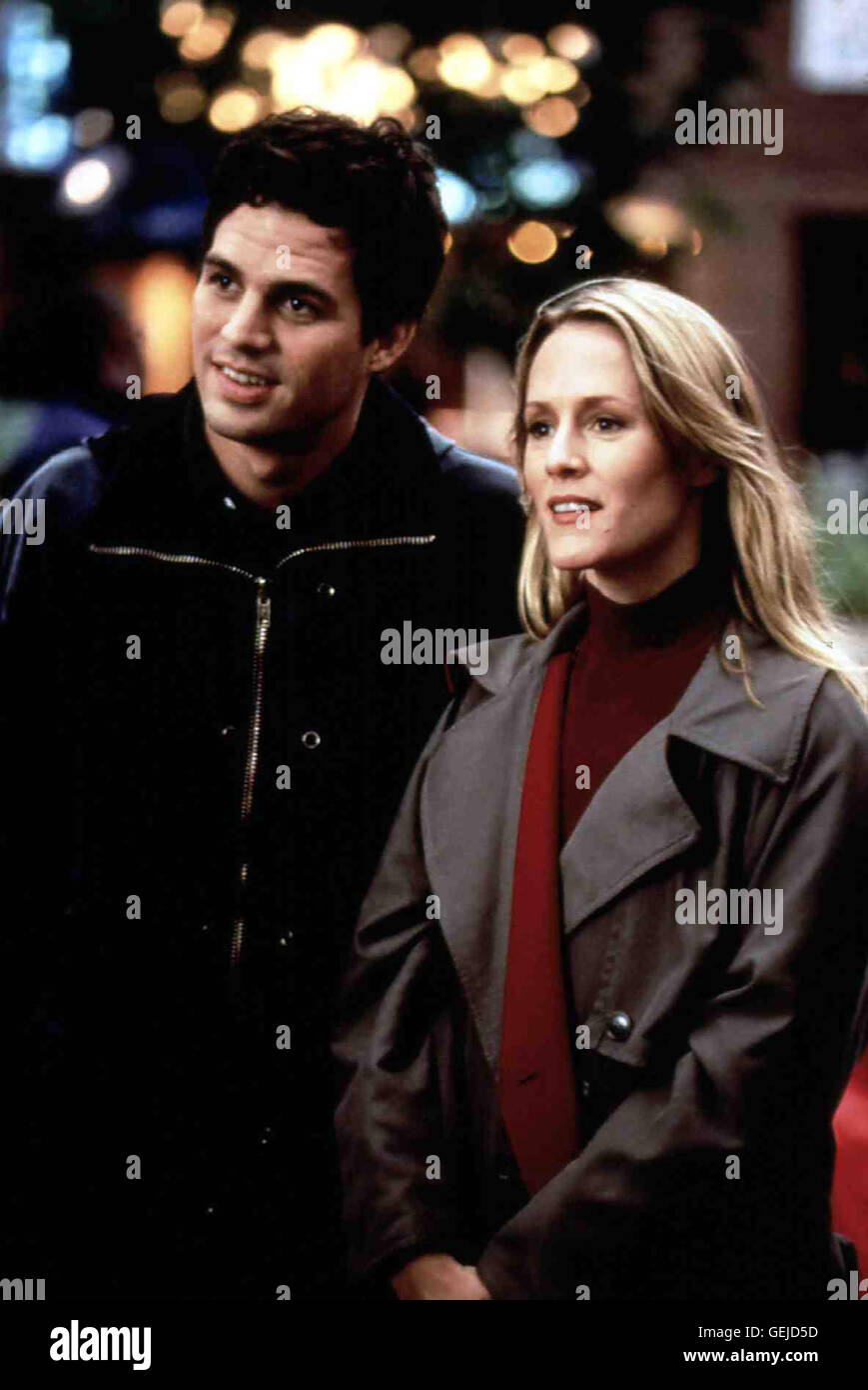 Mark Ruffalo, Mary Stuart Masterson *** Local Caption *** 1997, On The 2nd Day Of Christmas, Am Zweiten Weihnachtstag Stock Photo